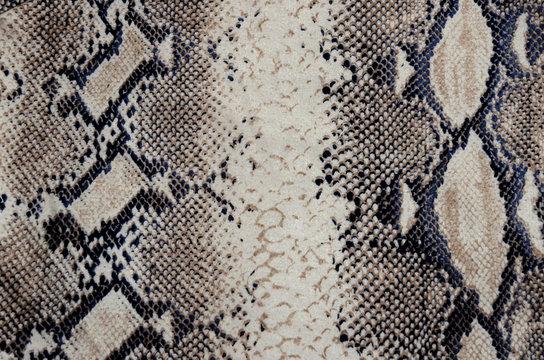 Tissu peau de serpent