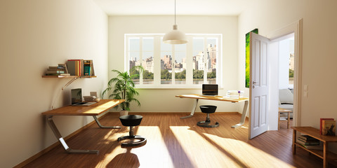 sun-drenched apartment