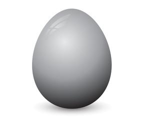 Black easter egg