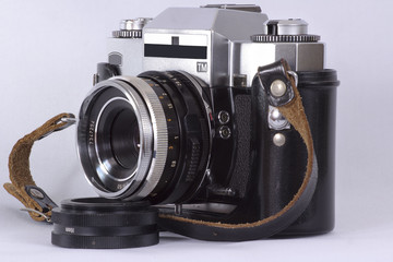 Alte SLR Kamera