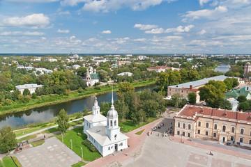 Vologda bird's eye view