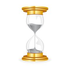 hourglass golden