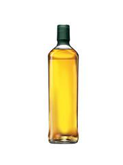 Whisky bottle on blank