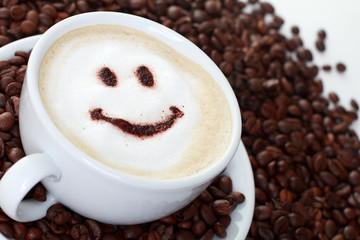 Kaffee und Smily