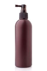 Bottle of cosmetic cream.