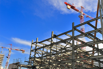 cantiere di costruzione edile - Milano Porta Vittoria