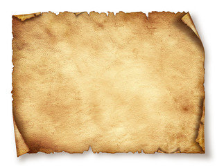 Old paper sheet, Vintage aged  Original background or texture