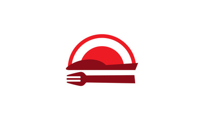 Concept logo restaurant