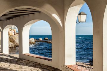 Fototapete - Costa Brava passage