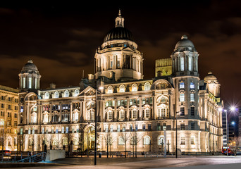 "Port of Liverpool Building, one of the ""3 Graces"" of Liverpool"