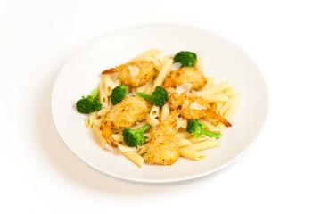 Broccoli Shrimp Pasta