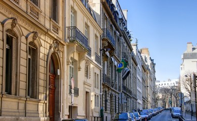 immeubles à paris