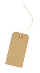 Blank Cardboard luggage identification tag