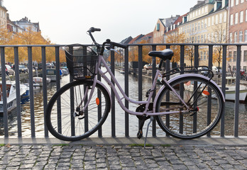 Bike in Copenhagen, Denmark