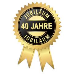 Jubiläum - 40 Jahre