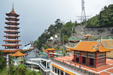 Papiers peints Edifice religieux Chinese temple in Genting highland