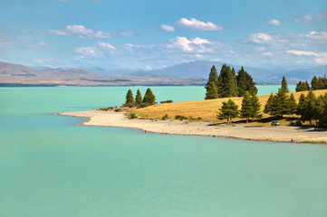 Lac Pukaki - Nouvelle Zélande