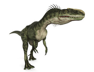 monolophosaurus walk