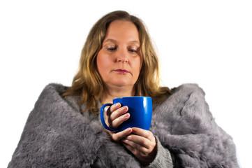 Grippe und Erholung