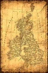 Retroplakat - England
