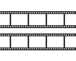 Blank negative film, 35mm film strip