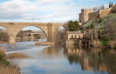 Toledo - San Martin s bride or Puente de san Maritn