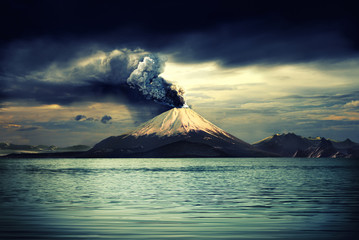 Canvas Prints Volcano Volcanos and all things related