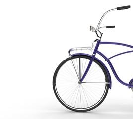 Purple Vintage Bicycle