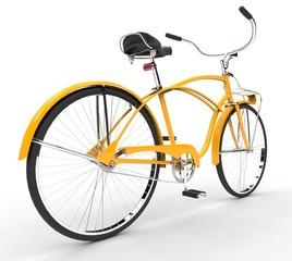 Yellow Vintage Bicycle