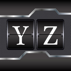 alphabet of mechanical Y-Z