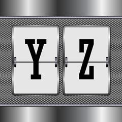 alphabet of mechanical Y-Z set2