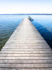 Papiers peints Jetee wooden jetty