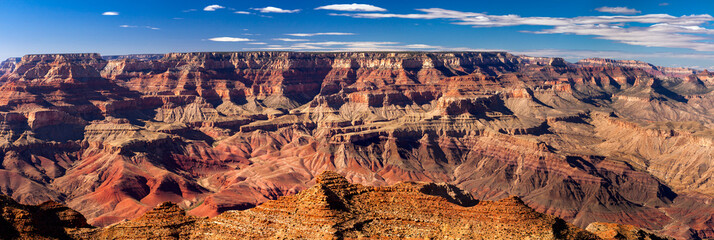 Fotorolgordijn Canyon Panoramic Grand Canyon, USA