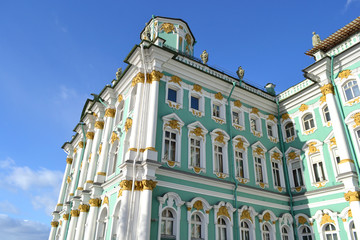 The Hermitage at winter
