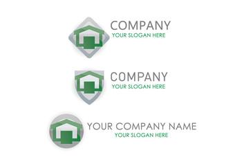 logo business, logotype house