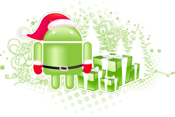Christmas background for android