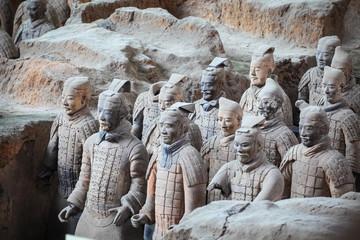 terracotta warriors in xian Fototapete