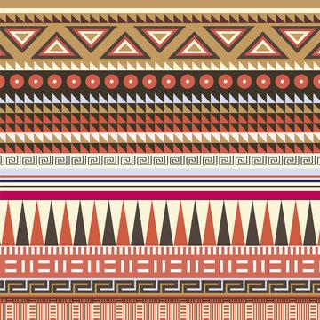 Color ornamental vector motive; for design and decoration