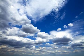 light sky in summer weather