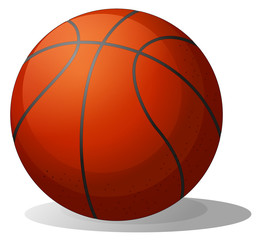 A basketball ball
