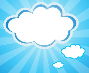 Empty cloud templates