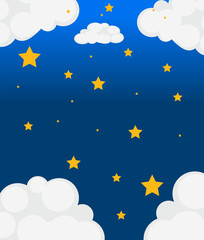 Papiers peints Ciel Stars in the sky