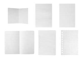 Paper sheets collection