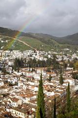 Wall Mural - Granada after rain