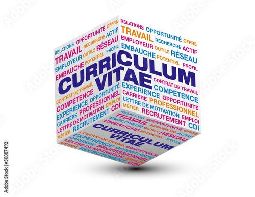Cube 3d Curriculum Vitae Imagenes De Archivo Y Vectores Libres De