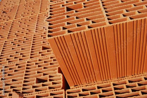 parpaing terre cuite photo libre de droits sur la banque