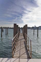 In de dag Pier passerella venezia