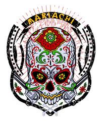 Mariachi skull