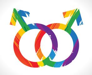 symbole gay, mariage gay, pour tous