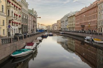 Quay of river Moyka, Saint Petersburg